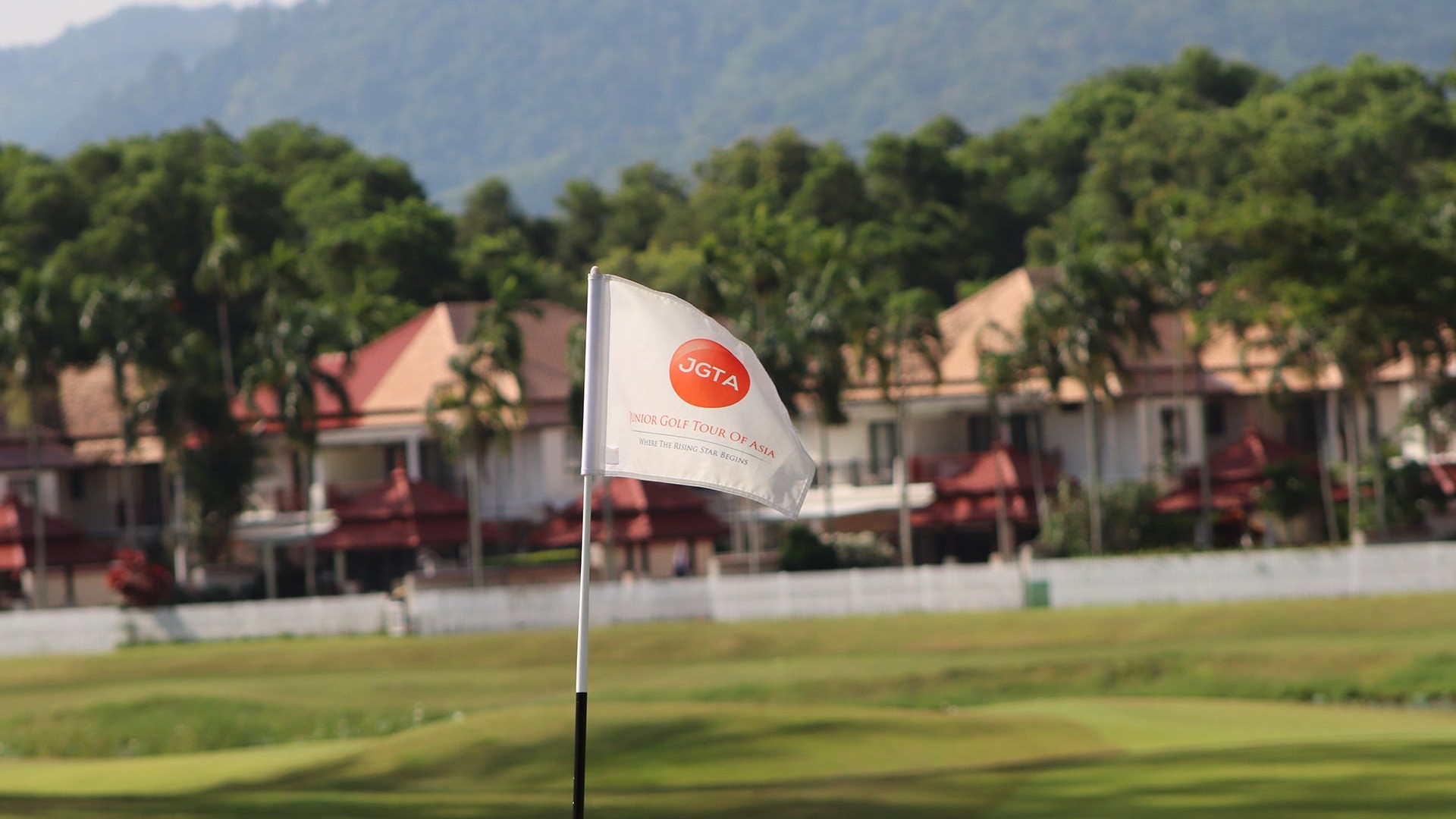 JGTA Phuket Junior Open Flag