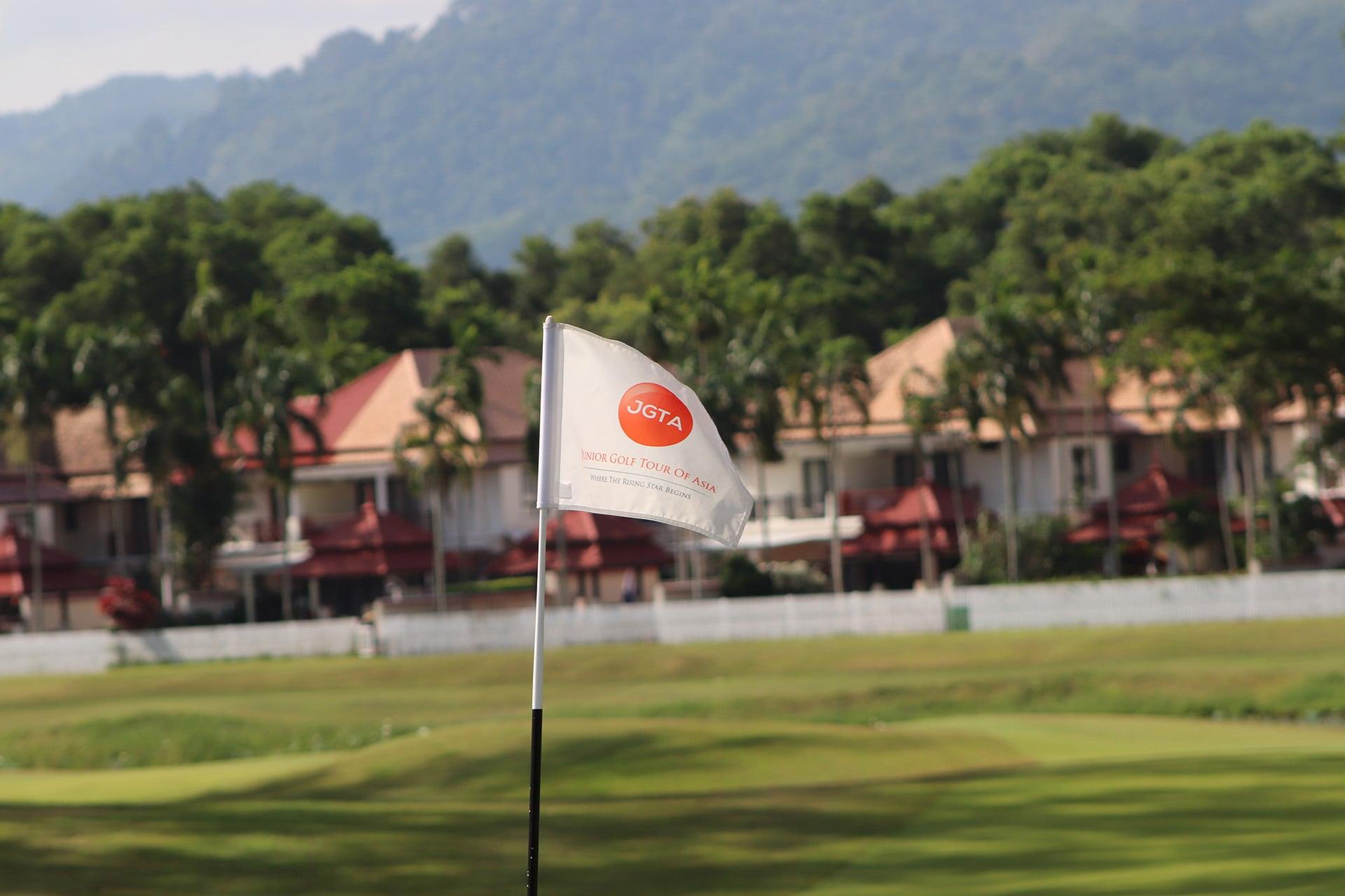 JGTA Phuket Junior Open Flag