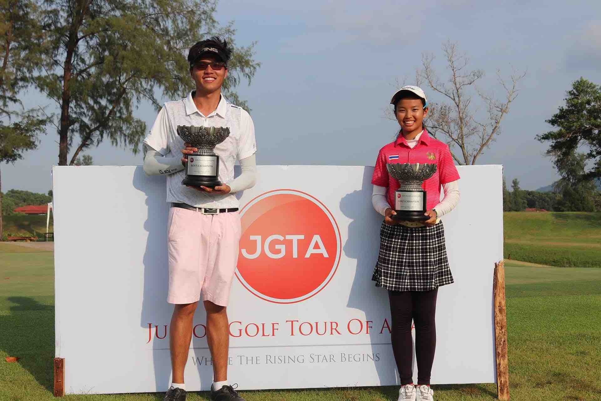 JGTA Phuket Junior Open Tournament Champions