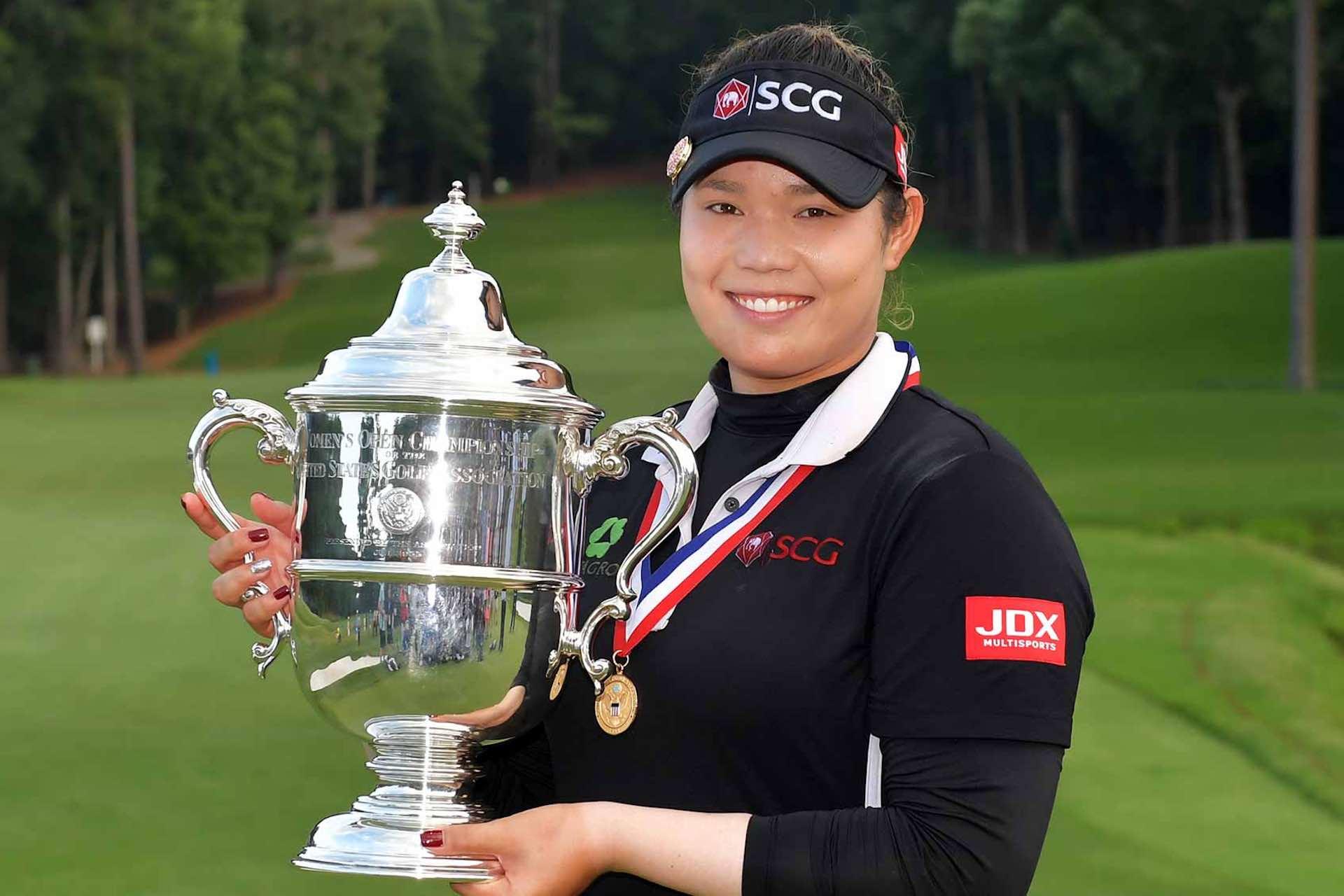 Ariya Jutanugarn US Open