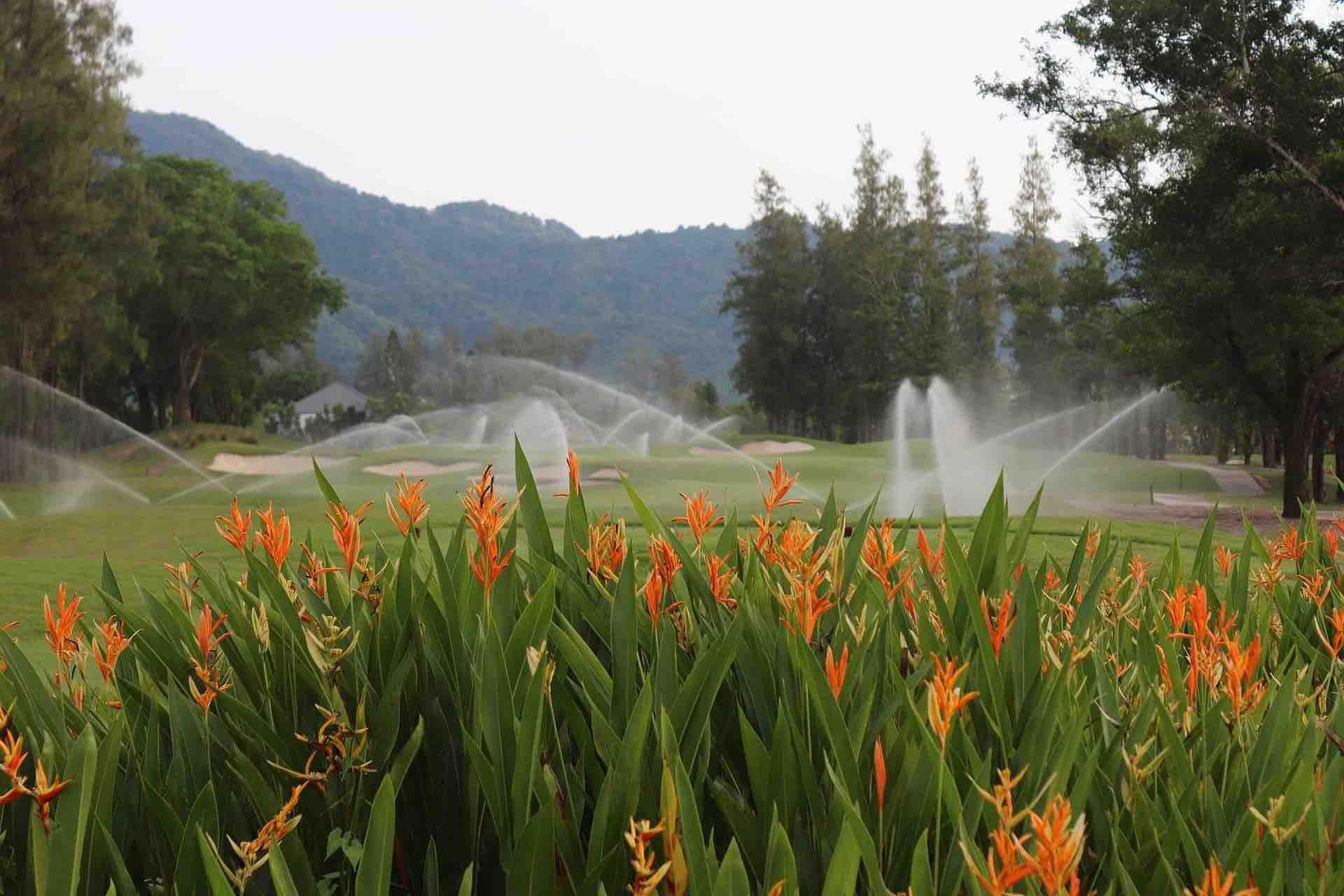 Laguna Golf Phuket Sprinklers
