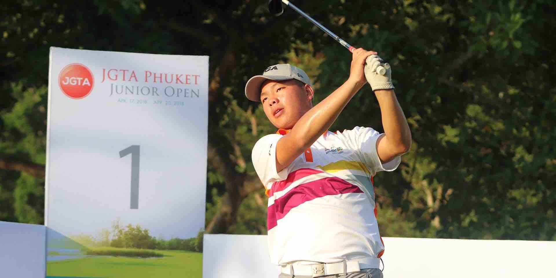 Three JGTA Players win AJGA - One of the champions, Xuan Luo at JGTA Phuket