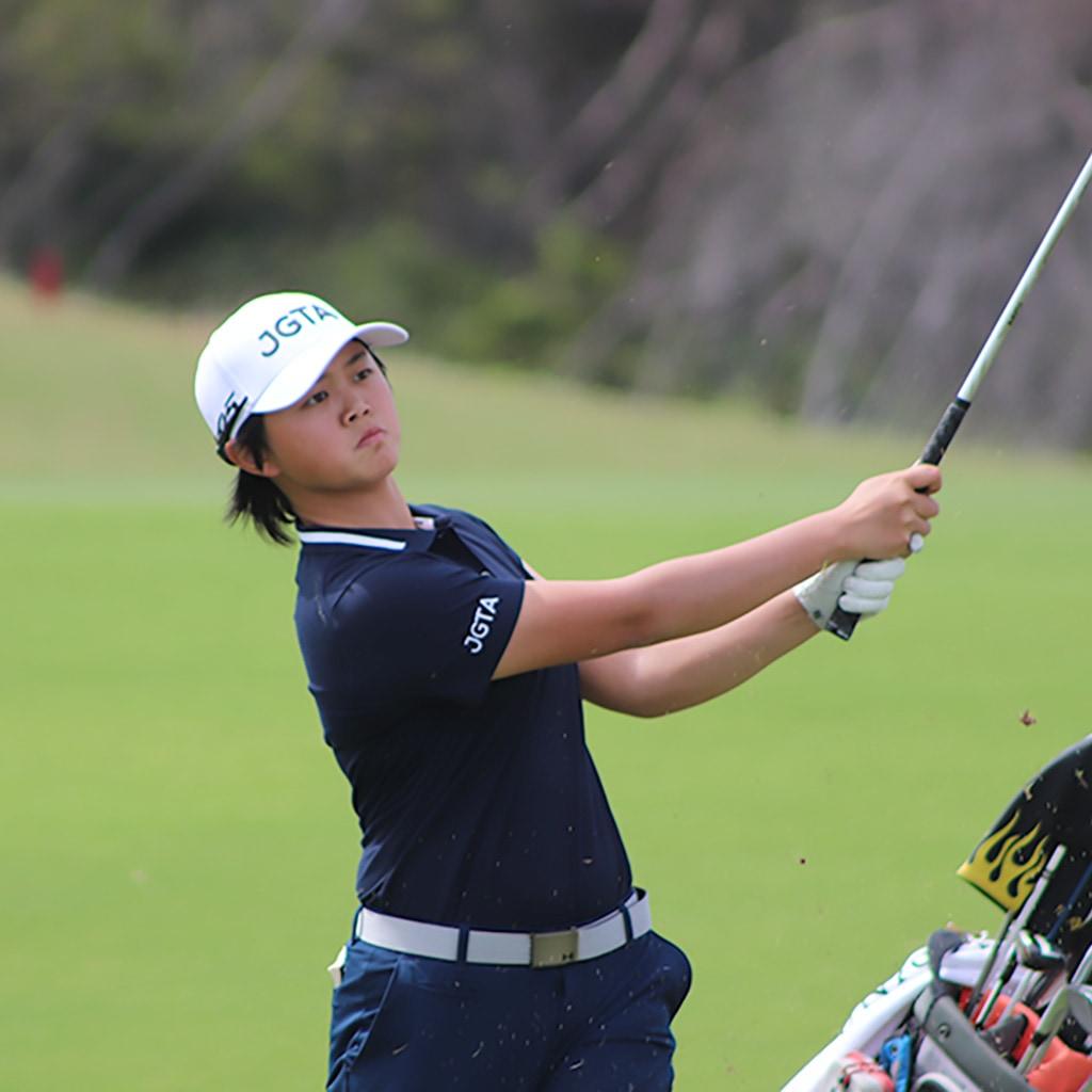 First Team 2020 Junior All-Asia Girl Honghong Zhou (2021)