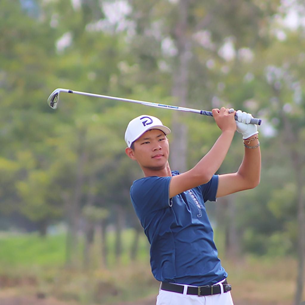 First Team 2020 Junior All-Asia Boy Kai-Chun Hsu (2021)