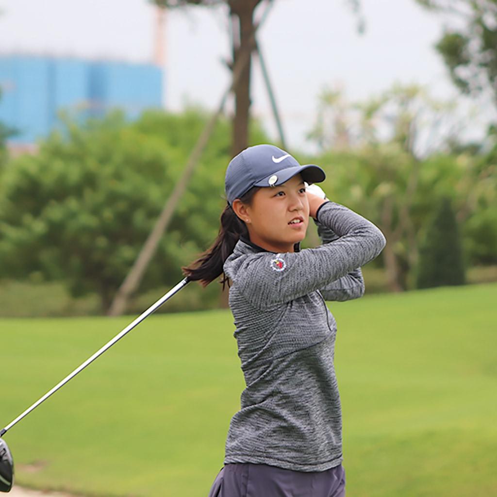 First Team 2020 Junior All-Asia Girl Yizhen (Tina) Kong (2022)