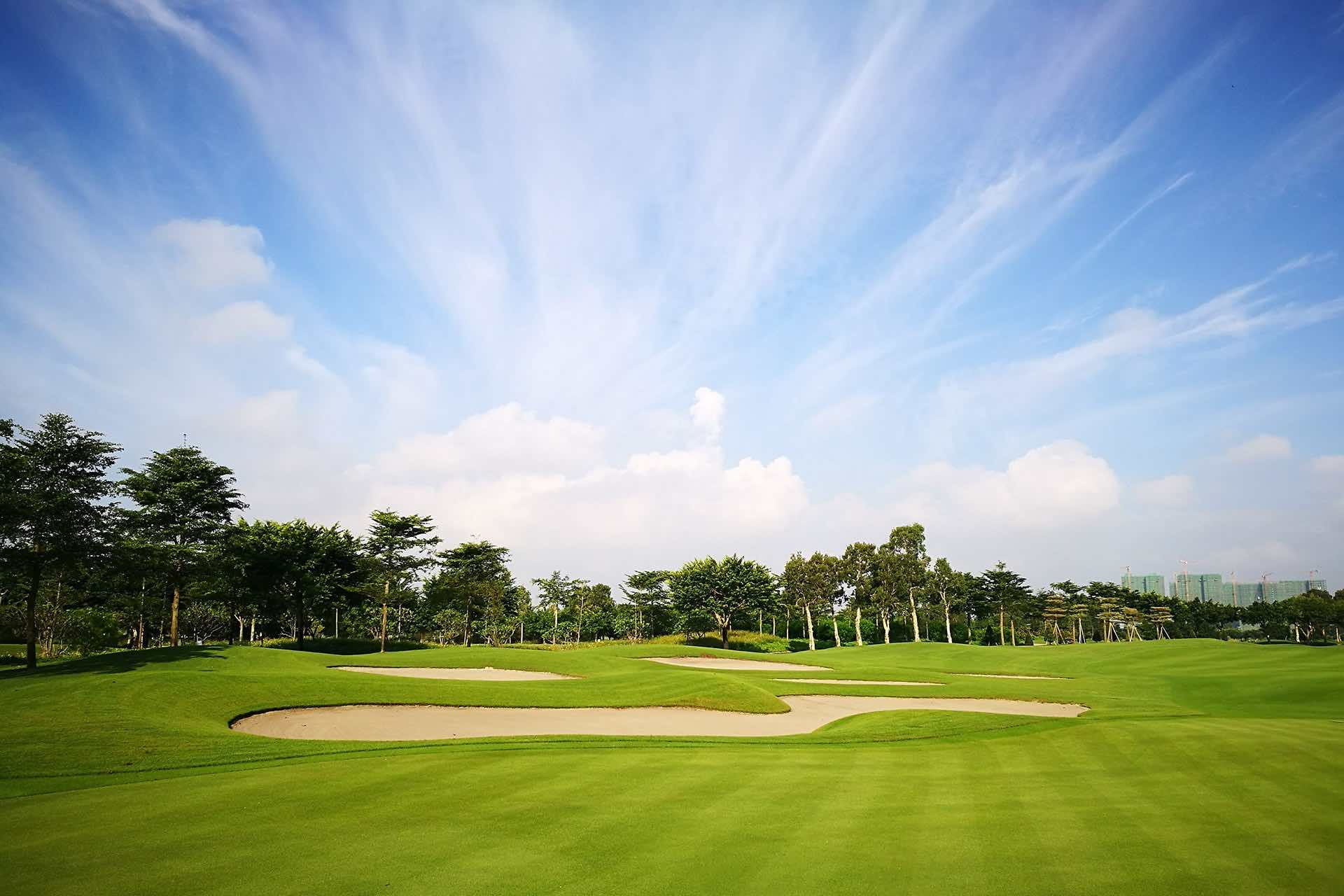 Zhuhai Golden Gulf Golf Club, the first stop to build a ranking on the Junior Order of merit