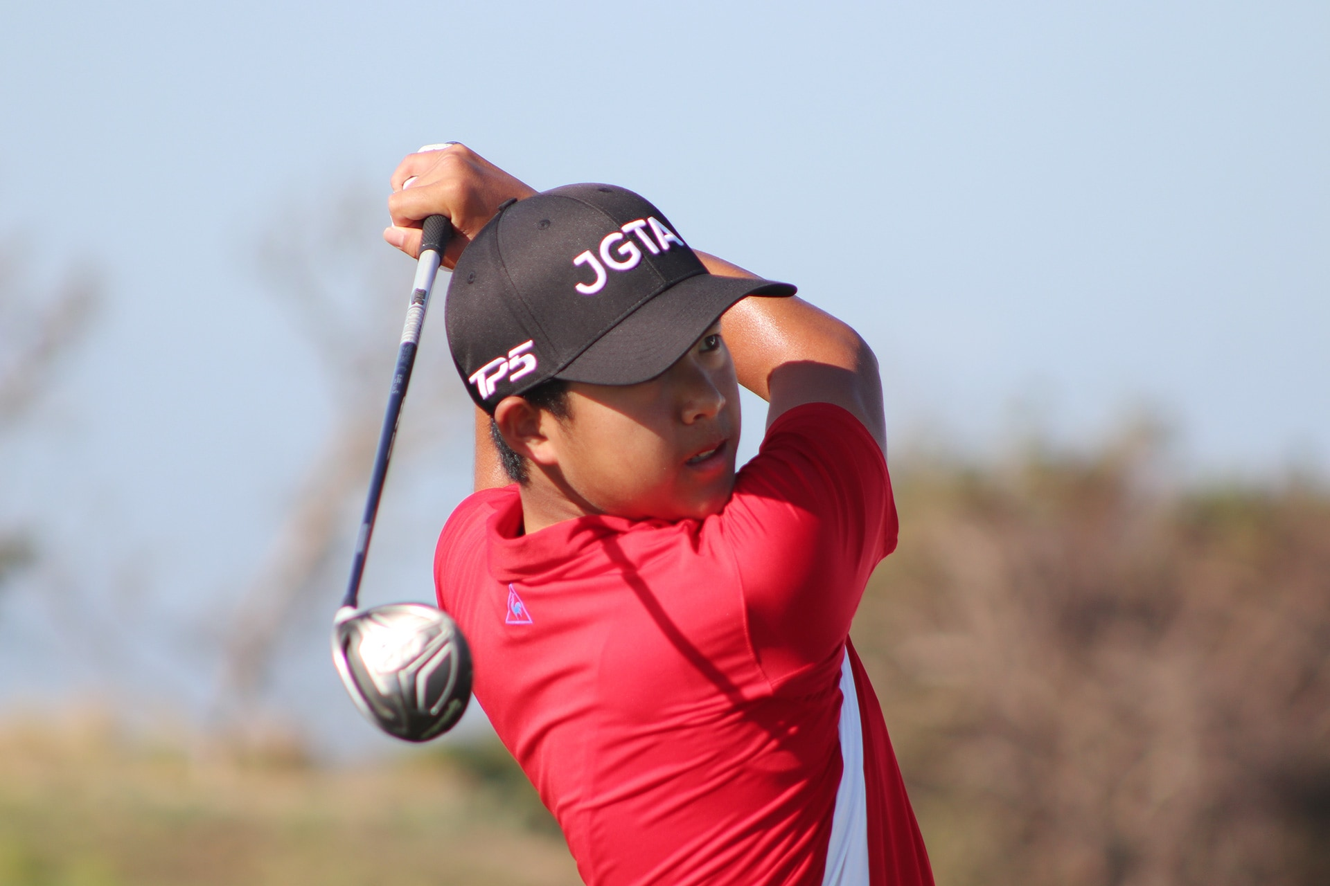 Markus Lam, First Team Junior All-Asia, First Tee Swing at the Junior Aspirations at The Bluffs