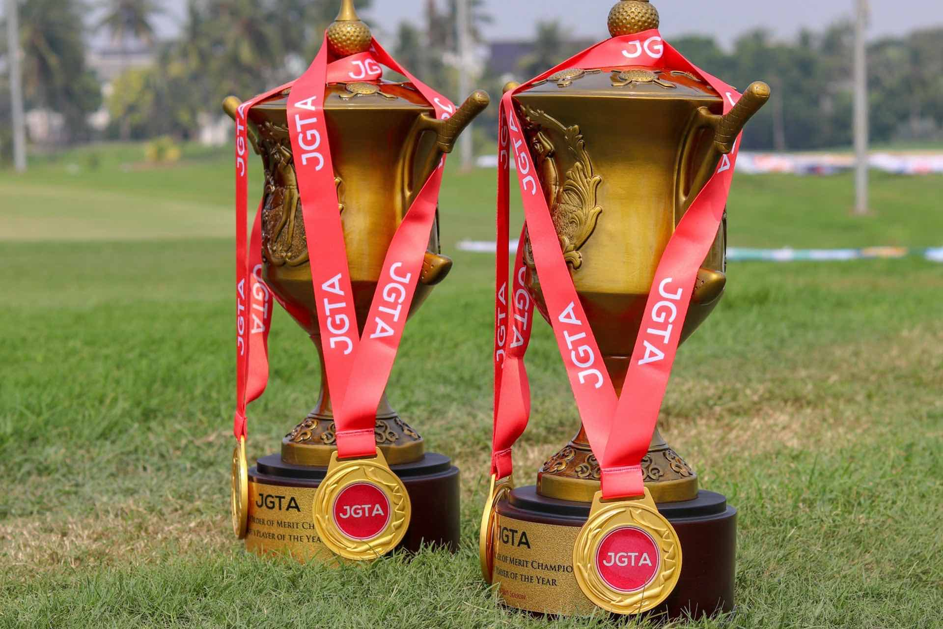 JGTA Awards and Honors - Players of the Year Trophies at #JGTACiputra and Junior All-Asia Team