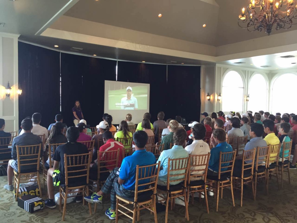 Tour Information session in the Players and Parents meeting of an event