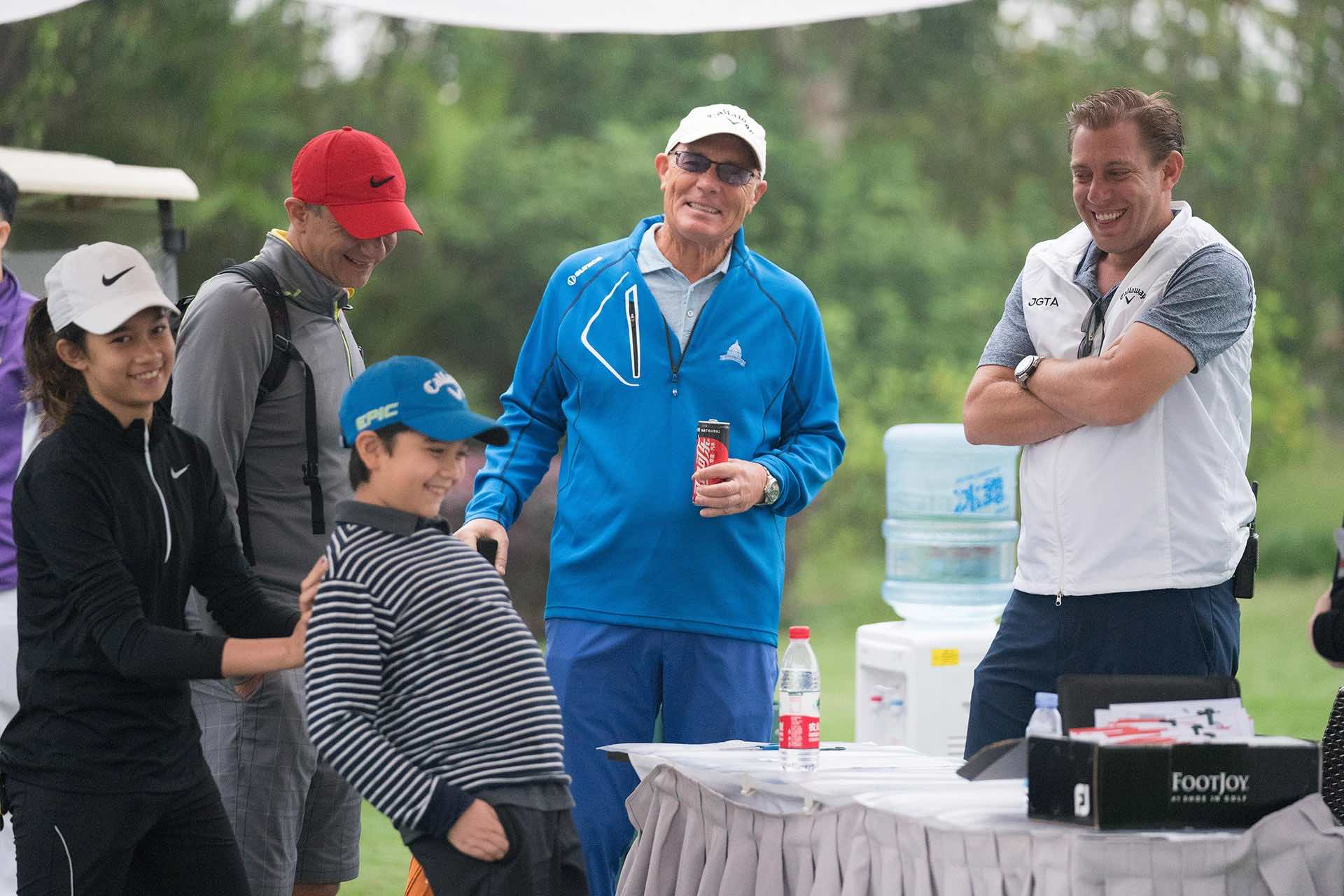 Eila Galitsky and Family at the fourth event on the 2018-2019 Tournament Schedule, The Southern Junior