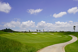 Chee Chan Golf Resort Cart path and Fairway View