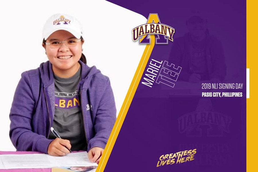 College Commitments 2020 Mariel Isabella Tee to University at Albany