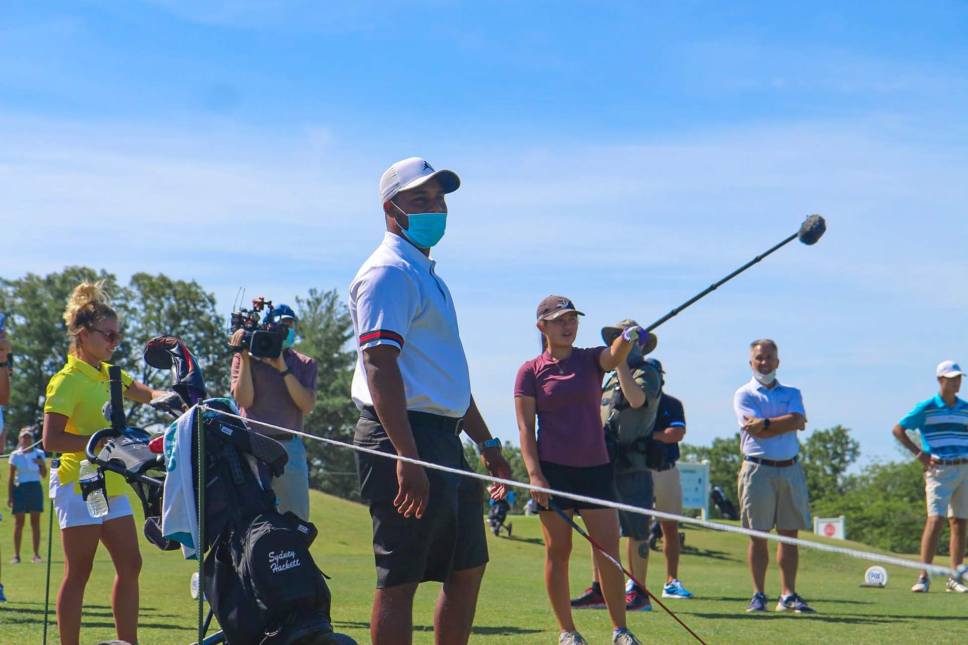 Down to the wire Harold Varner III mentoring juniors
